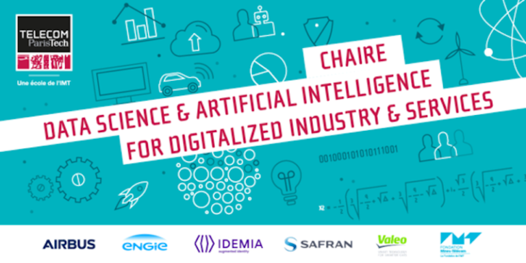 Télécom ParisTech lance sa nouvelle chaire de recherche et d'enseignement « Data Science & Artificial Intelligence for Digitalized Industry & Services »