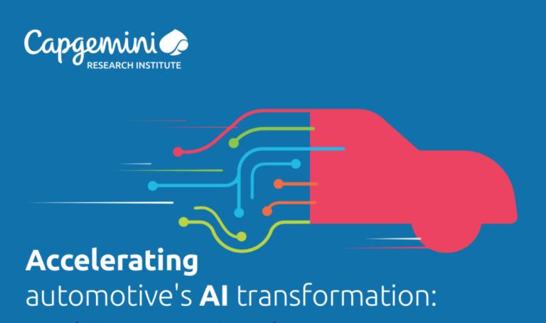 Intelligence artificielle dans le secteur automobile : des projets en stagnation selon une étude de Capgemini