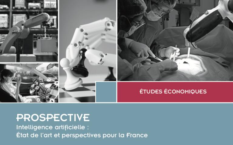 """La DGE présente son rapport """"Intelligence artificielle : État de l'art et perspectives pour la France"""""""