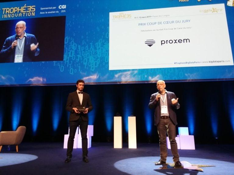Découvrez les lauréats des Trophées de l'Innovation Big Data : Myrtea metrics, Daher et Proxem
