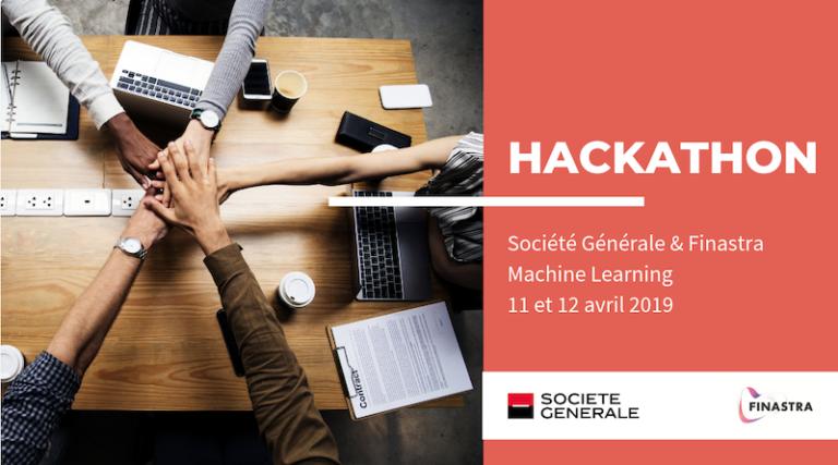 Hackathon FinTech Machine Learning by Société Générale et Finastra