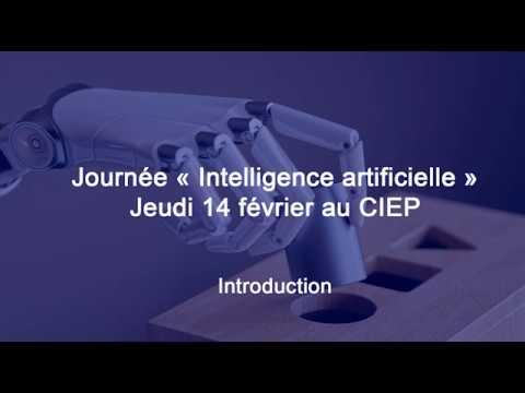 Journée « Intelligence artificielle » pour les cadres du ministère de l'éducation nationale et de la jeunesse – Partie 1/3