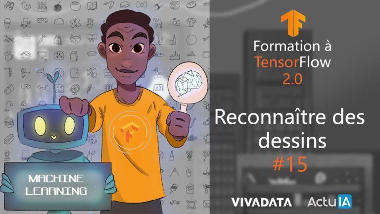 Formation TensorFlow : Développer une intelligence artificielle qui reconnaît des dessins