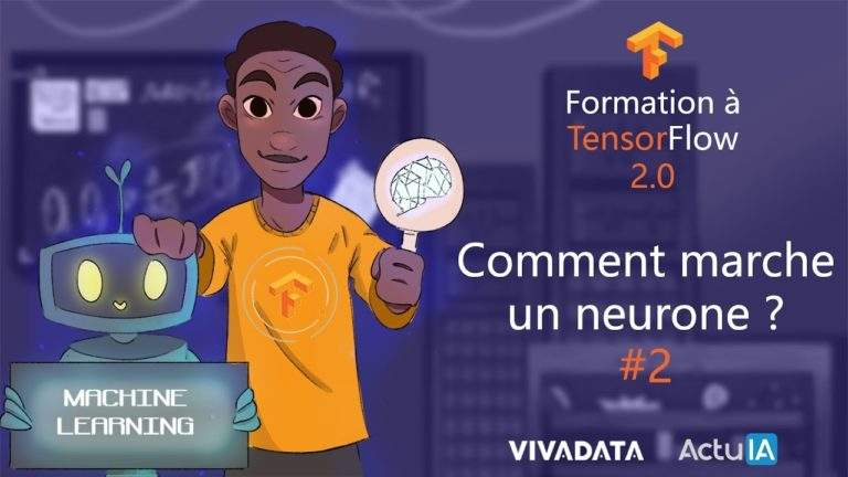 Formation TensorFlow – Comment marche un perceptron ?