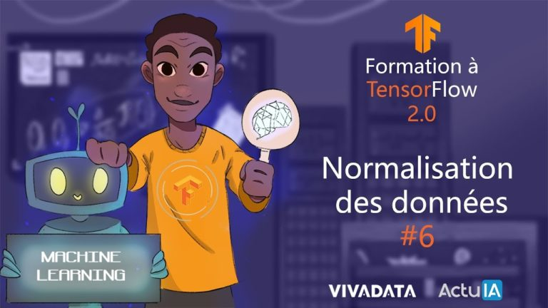 Formation TensorFlow : Normaliser les données