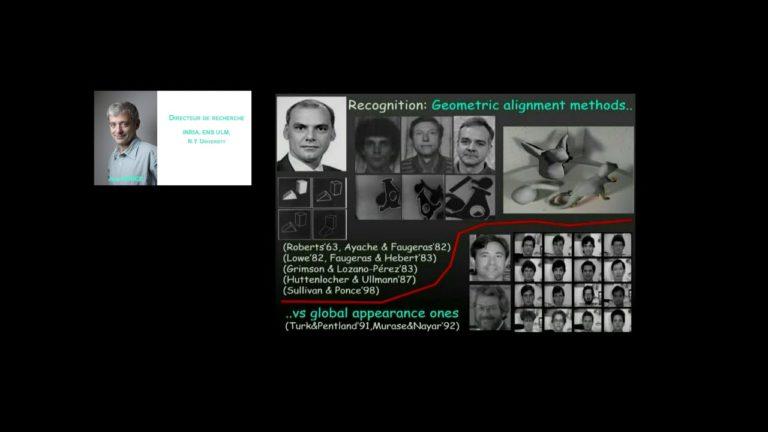"""Conférence """"Défis scientifiques pour l'intelligence artificielle"""" de Jean Ponce"""