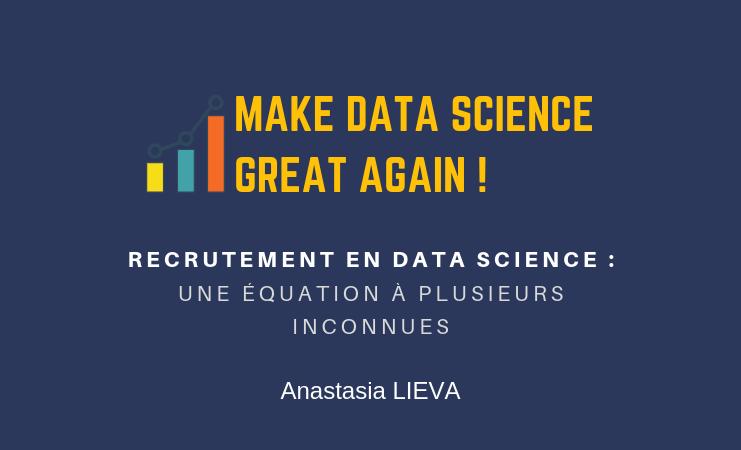 Recrutement en Data Science : une équation à plusieurs inconnues