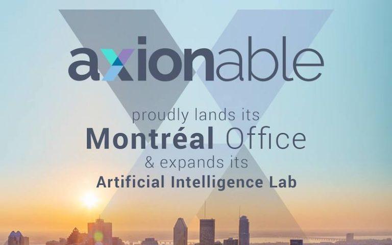 Axionable ouvre un bureau à Montréal et vise le recrutement d'une cinquantaine de talents en IA