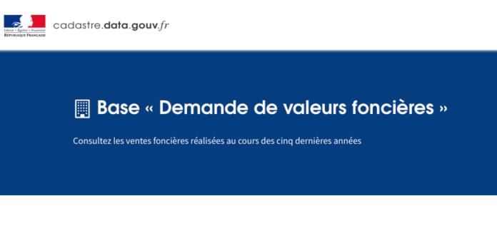 Base valeurs foncières open data