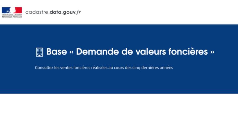 La DGFiP propose en open data sa base de données sur les ventes de biens immobiliers
