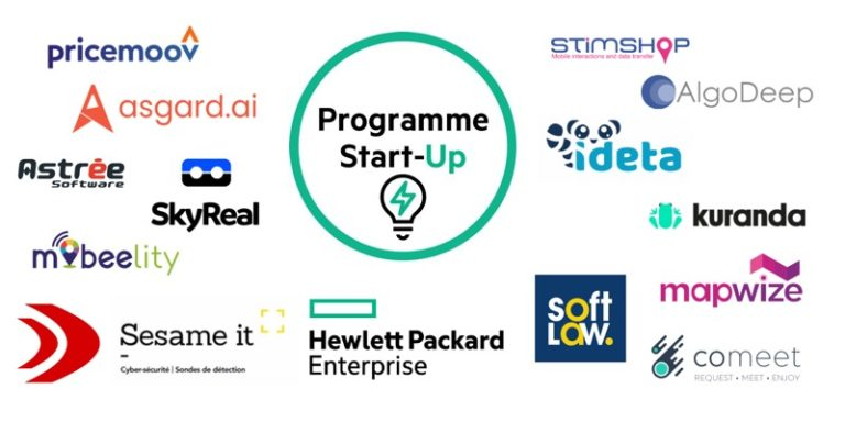 15 start-ups rejoignent la nouvelle « Promo Start-Up » 2019 de HPE