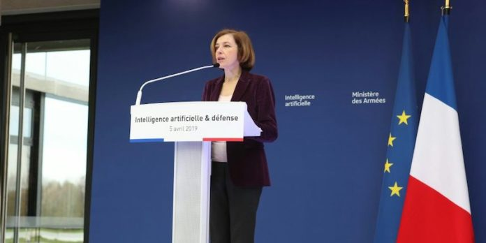 Intelligence artificielle Défense Parly