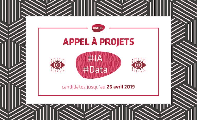 Appel à candidatures Unitec pour les projets liés à l'intelligence artificielle et à la data