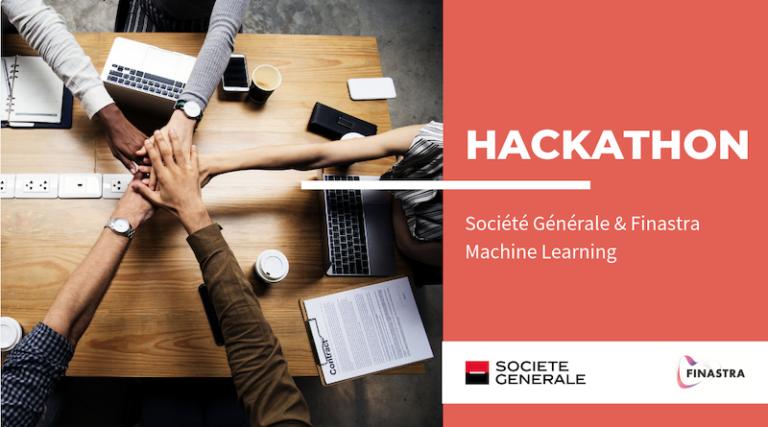 L'ENSAE Paris Tech remporte le Hackathon Fintech Machine Learning de Finastra et Société Générale