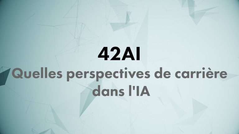 Replay 42AI : Les perspectives de carrière dans l'intelligence artificielle par Camilo Rodriguez (Machine Learning Lab)
