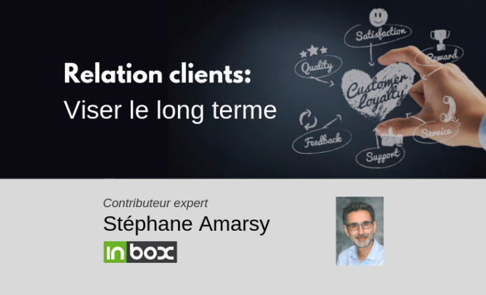 relation clients viser le long terme