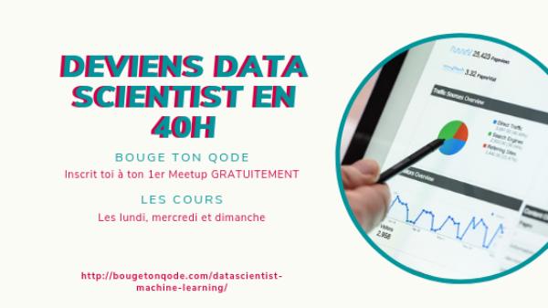 Meetup Data Science Débutant 🔥