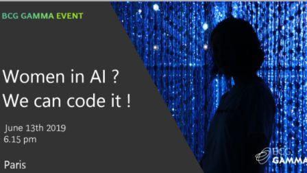 Women in AI We can code it