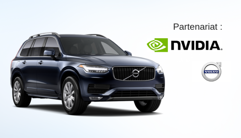 NVIDIA et Volvo signent un accord sur les véhicules autonomes