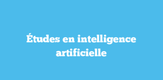Études en intelligence artificielle