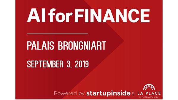AI for Finance @ Palais Brongniart + de 1000 personnes !