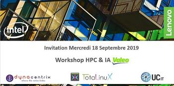 Invitation exclusive Valeo Innovation AI & HPC