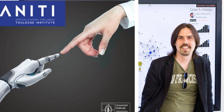 César Hidalgo, directeur du Collective learning group du MIT Media Lab, rejoint Aniti