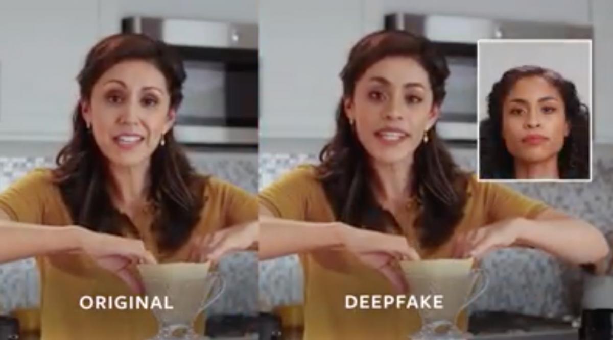 Facebook challenge deepfake