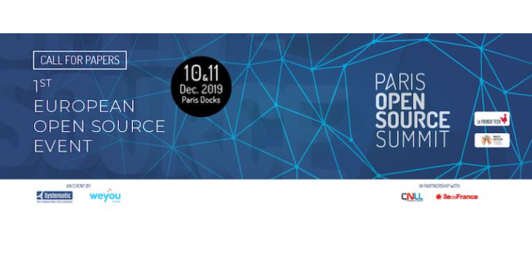 L'appel à présentations pour le Paris Open Source Summit 2019 est lancé