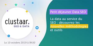 Petit déjeuner Data SEO Découvrez les nouvelles méthodologies et outils pour mettre la data au servic