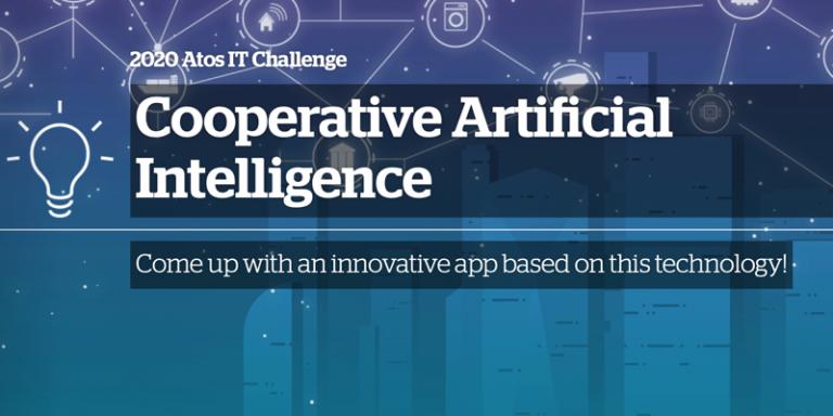 Lancement du IT Challenge 2020 d'Atos sur le thème de l'Intelligence Artificielle Coopérative