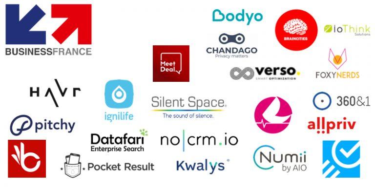 Découvrez les 21 startups de la délégation Business France qui se rendront au Web Summit 2019