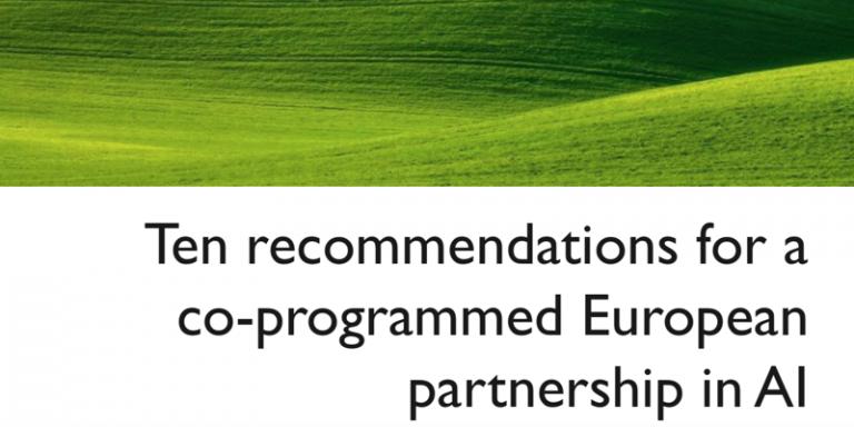 Scientifiques et innovateurs publient 10 recommandations pour un partenariat européen public-privé sur l'intelligence artificielle