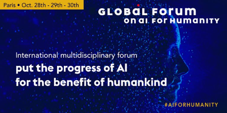 Le Global Forum on AI for Humanity se tient cette semaine à Paris