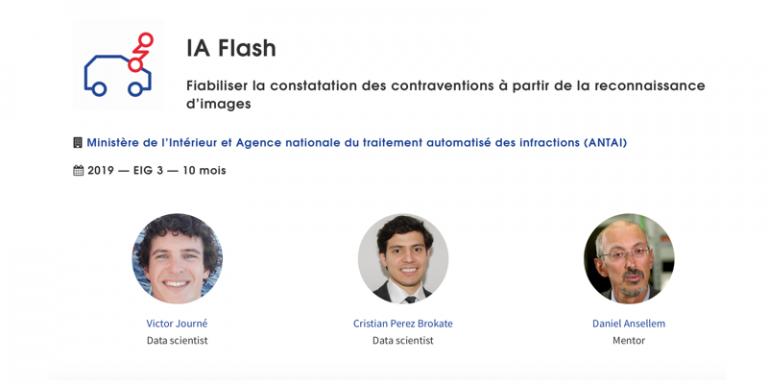 Testez l'API d'IA Flash, le projet IA développé pour fiabiliser la constatation des contraventions à partir de la reconnaissance d'images