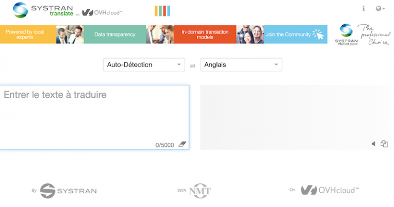 SYSTRAN lance une Marketplace de modèles sectoriels de traduction neuronale