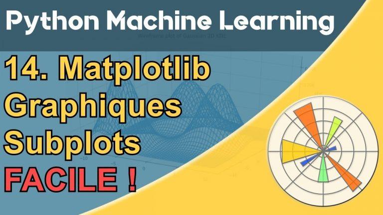Formation Python – Machine Learning 14/30 : Matplotlib facile