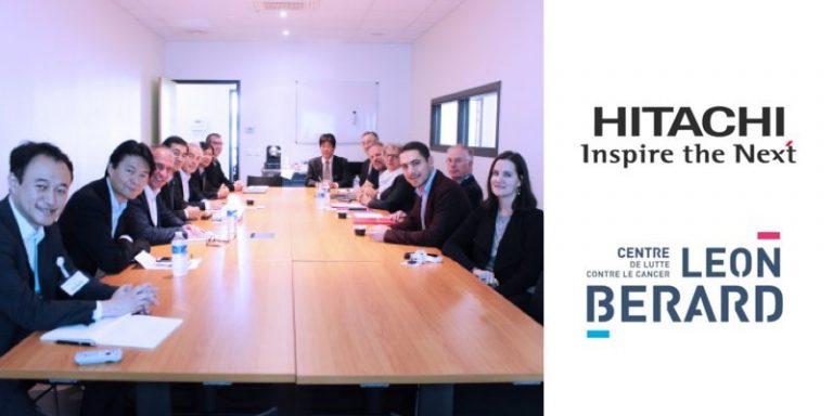 Santé et IA : Création du Hitachi Lyon Lab par Hitachi et le Centre de lutte contre le cancer Léon Bérard