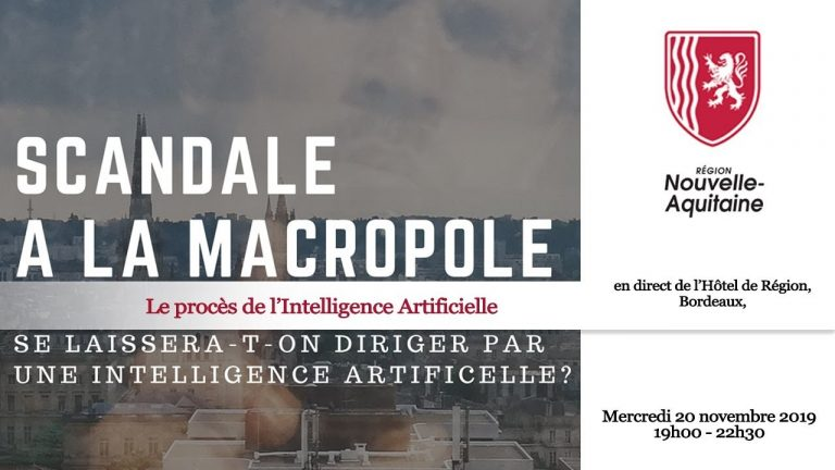 "Replay : ""Le procès de l'intelligence artificielle – Bordeaux Macropole – 2050"" organisé par l'université de Bordeaux"