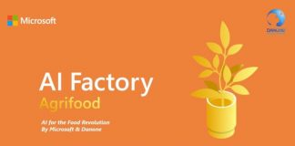 Microsoft Danone AI Factory Agrifood