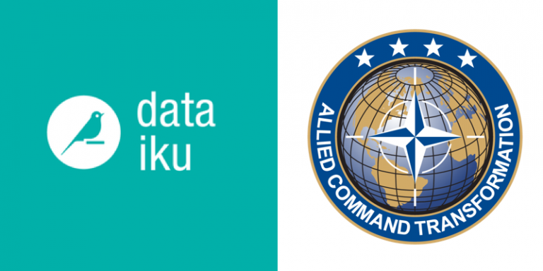 Collaboration entre Dataiku et le Commandement Allié Transformation de l'OTAN pour déployer des projets IA sur le terrain