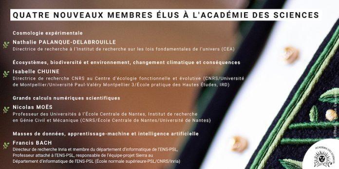 Francis Bach Académie des sciences