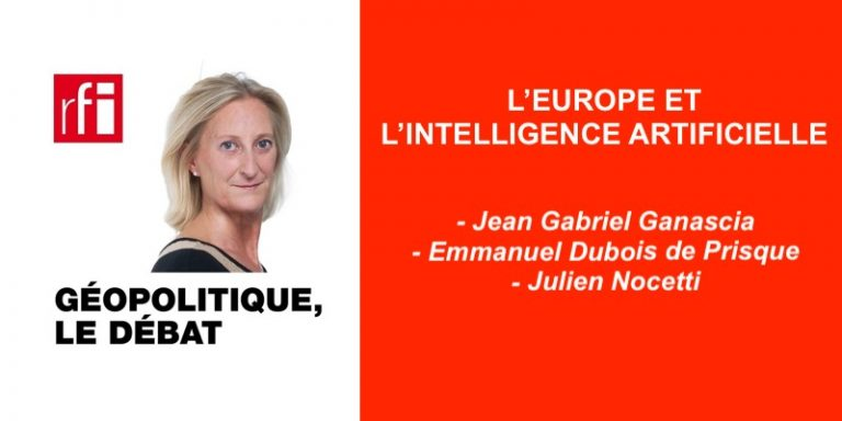 Replay Podcast : L'Europe et l'intelligence artificielle dans Géopolitique, le débat sur RFI