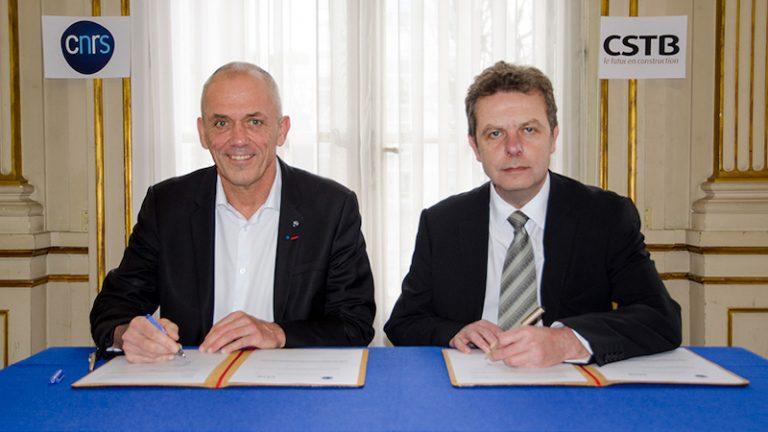 Ville de demain : Le CNRS et le CSTB signent un accord-cadre de recherche pour cinq ans