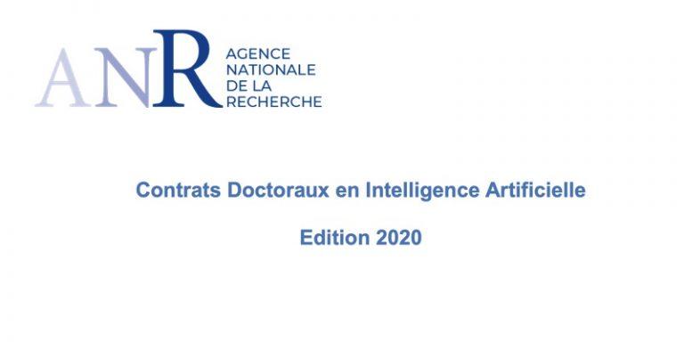 L'ANR retient 22 établissements suite à son appel à programmes « contrats doctoraux en IA »
