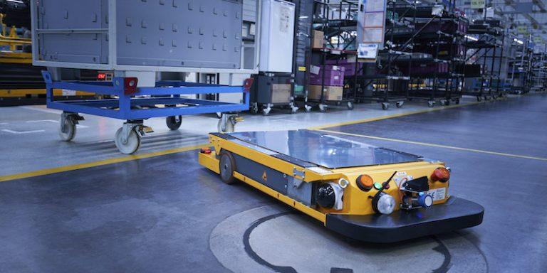 Logistique : Le groupe BMW, en collaboration avec NVIDIA, développe des robots autonomes avec une capacité de coordination avancée