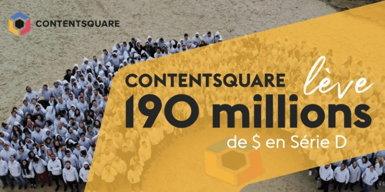 Experience Analytics : Contentsquare lève 190 millions de dollars en Série D