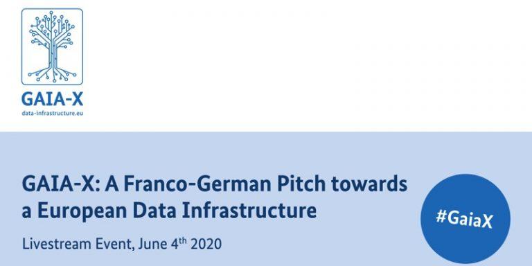 GAIA-X : Conférence des ministres et forum d'experts sur le projet infrastructure de données européenne