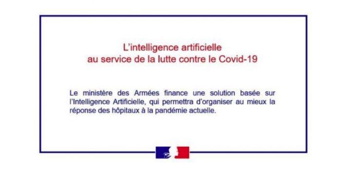 IA lutte Covid-19 Armees