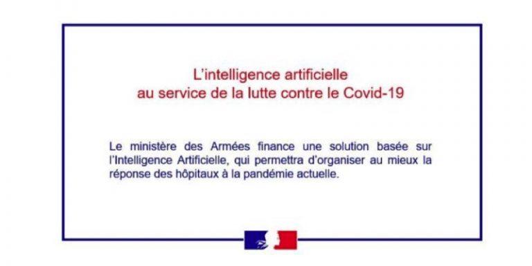 Covid-19 et IA : Le ministère des Armées retient le projet ONADAP du Centre Borelli et de l'Hôpital d'instruction des Armées Percy